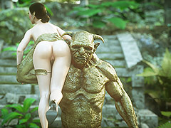 White beauty in danger - Elf slave 7 Double trouble by Jared999d