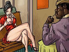 I have been his slut and my husband has no idea - Happy new year by Illustrated interracial