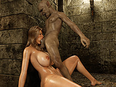 Pussy stretching in the dungeon - Lexi Bobo by Blackadder