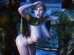 More sex, more fun - Elf slave Volunteer by Jared999d