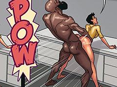 Make me your black cock slut - Art class 2
