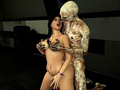 Giant scary creature fucks of a pretty girl - Carinas Night Trips 2 by 3DZEN
