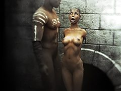 The slaves - The slaves looked exhausted by Agan Medon