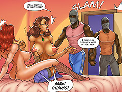 The big ones only come in black - The wife and the black gardeners 3 by Kaos comics