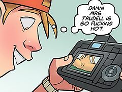 Damn, Mrs. Trudell is so fucking hot - Nurd 2 by jabcomix