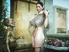 Hot babe enjoy great moments with a monster cock - Elf slave 6 Love and Lust by Jared999d