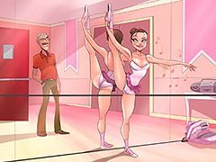 She was wearing a pink leotard - Animated tales: I picked up my boss's daughter at ballet class by Welcomix (Tufos)