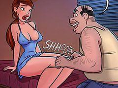 Step into my office, fine lady - Dat ass 2 by jabcomix (incest comics)