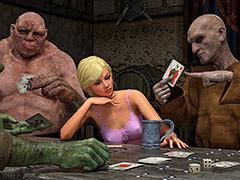 Sex games with strangers - Knight Elayne, Strip poker by Hibbli3d (Hibbli, Adara)
