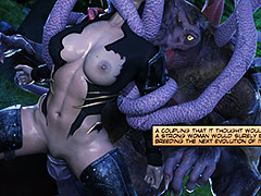 Its cock fully erect - World Never Quest The huntress episode 2 by crazy xxx 3D