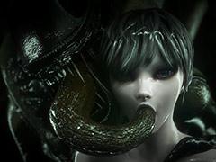 Alien creatures gangbang a pretty girl - 3D monster by Vaesark