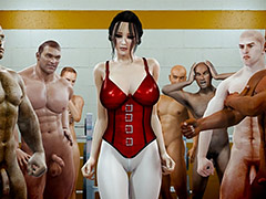 Dirty porn workout - Naked gym by Jared999d