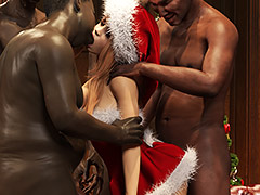 You really know how to stretch a girl out - Sasha Xmas by Dark Lord