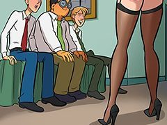 Who's going to make my gangbang fantasy come true? - Nurd 2 by jab comix