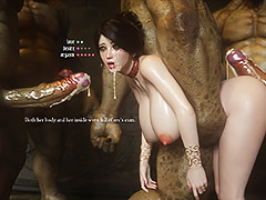 Sperm gushes out of her pussy like a fountain - Fallen lady 3 by Jared999d