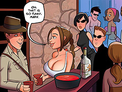 I love more than one cock - Saving halloween by dirty comics
