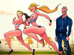 The sun was really beating down - Animated tales: The physical education teacher by Welcomix (Tufos)
