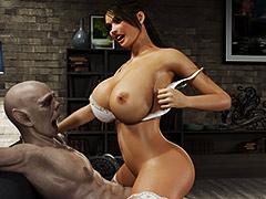 Horny slut gets hammered hard by monster - Gisela and Vladimir by Blackadder