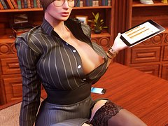 Big tits long legs lingerie - Serious Business 1 by Shassai