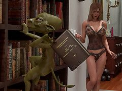 Slutty gang hang back a naughty whore - HD comics  by 3D Collection