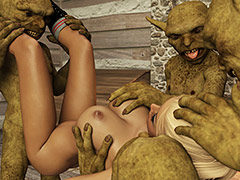 He stuck his tongue out to meet my clit - My secret goblin obsession 2 by Casgra