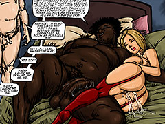 Pump me full of your nigger seed - Happy Valentine by Illustrated interracial
