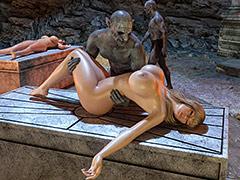 A hard sex time in the dungeon - Krat Gisela by Blackadder