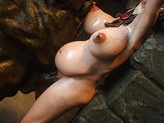 Big puddle of hot sperm - Elf slave 3 Two Elves by Jared999d
