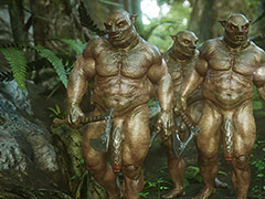 Monsters are coming - Elf slave 7 Three slaves by Jared999d