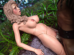 Huge monster hot cum - Elf's Quest by Hold