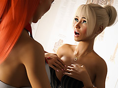 My breast and my pussy are so hot - The Experiment 1 (Nicole, Dr.Valery) by Miki3dx