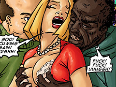 This is a tight white pussy - Happy new year 2019 by Illustrated interracial
