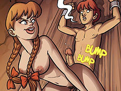 Time for your reward, Zeke, let's pop your cherry - Farm lessons 21 by jab comix