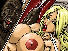 That felt good going down my throat gentlemen - Manza by Illustrated interracial