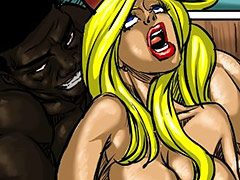 Jessica cried and screamed in horrific pain - Farm girl by Illustrated interracial