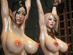 Big tits and huge cocks - Elf slave 3 Two Elves by Jared999d