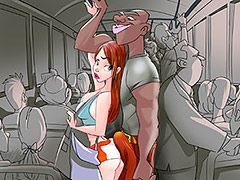 I tried to move, but the bus was really full - Animated tales: A full bus always means trouble by Welcomix (Tufos)