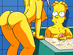 Handjob in the bathtub is the best thing - The Simptoons In the bathtub with the aunts by welcomix (tufos)