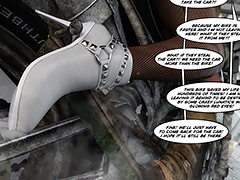 Your cock is so fucking perfect - Echo 9 Actual stress by crazy xxx 3D
