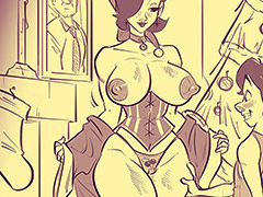 The gift of my body - Happy new years by jab comix