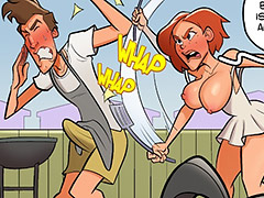 I can't believe this is giving you an erection, you pig - Holli Would 2 by jab comix