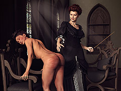 Femdom mistress in action - Femdom 3d by Rotrex