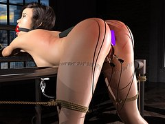 3D babes scream in pain and pleasure - Long Layover series (xxx) Part 7 by 3DErotic