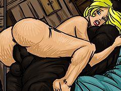 God you black sperm i so hot - Farm girl by Illustrated interracial