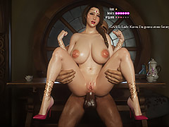 My anal hole is ready now, I'll try again - Fallen lady 3 by Jared999d