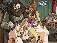 Dirty bondage games - Harry Potter and sex education: Ron, Hermione, Hagrid, Severus, House Elf, Dobby by Alx
