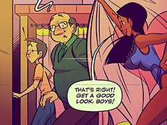 My husband loves when I show off my assets - Keeping it up with the Joneses 6 by jab comix