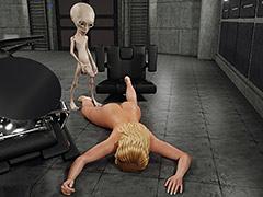 Hardcore sex with kinky alien - Alien Attack by Blackadder