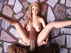 Huge cock and blond elf - Elf's Quest by Hold