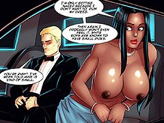 What's a white boy like you doing with a big dick like that? - The red carpet by Black n White comics 2016